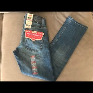 Boys 511 slim fit performance Levi's
